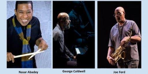 Nasar Abadey, George Caldwell and Joe Ford