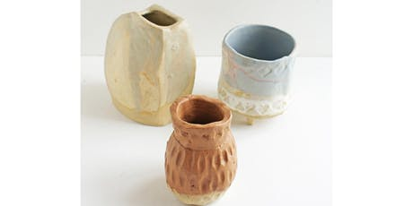 Pottery, Clay and Ceramic Workshop Part 2 - Three Week Course tickets