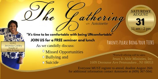 The Gathering with Antoinette