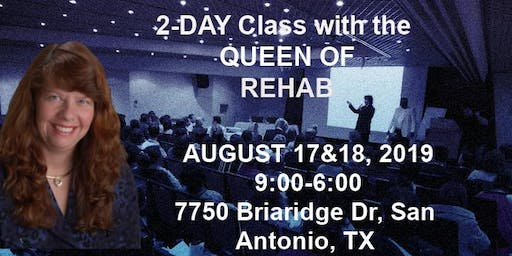 Robyn Thompson, The Queen of Rehab is coming for a 2 Day Workshop