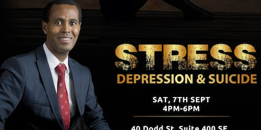 STRESS, DEPRESSION AND SUICIDE