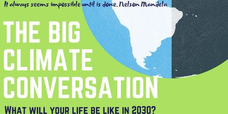 Big Climate Conversation - Moray tickets