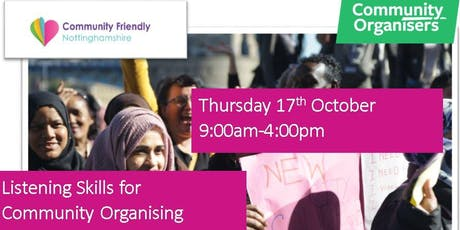 Listening Skills for Community Organising, 1 Day Workshop Love where you live tickets
