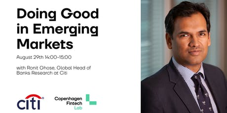 Doing Good in Emerging Markets tickets