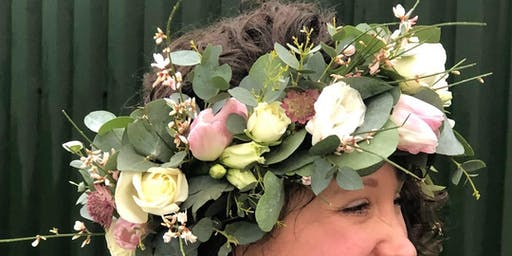 Learn how to make a wild and wonderful flower crown