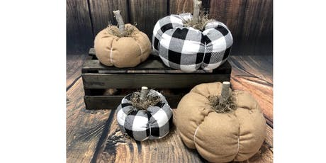 Ladies Night -DIY Class-  Fall Fabric Pumpkins tickets