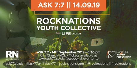 ASK 7:7 - 14th September 2019 tickets