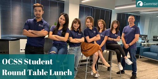 Comrise's OCSS Student Round Table Lunch/ 讯升留学生求职服务