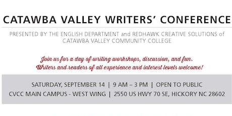 Catawba Valley Community College 2019 Writers' Workshop tickets