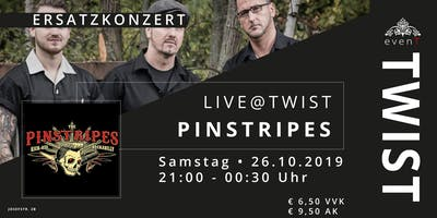"Live@TWIST: ""The Pinstripes"""