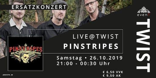 """Live@TWIST: """"The Pinstripes"""""""