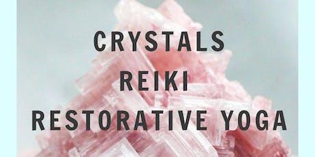 Crystals, Reiki & Restorative tickets
