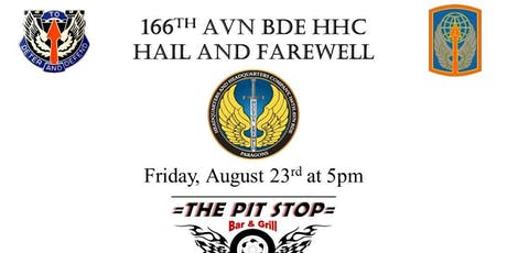 166th Avn Bde HHC Hail and Farewell tickets