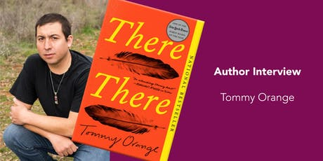 "CapRadio Reads: ""There There"" by Tommy Orange tickets"