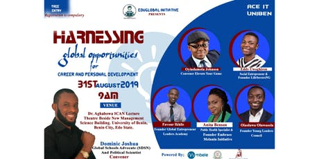 Harnessing global opportunities for career and personal development tickets