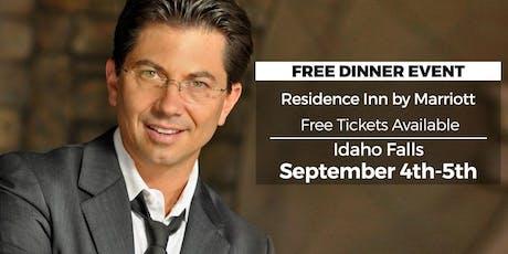 (FREE) Millionaire Success Habits revealed in Idaho Falls by Dean Graziosi tickets