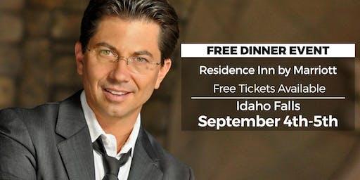 (FREE) Millionaire Success Habits revealed in Idaho Falls by Dean Graziosi