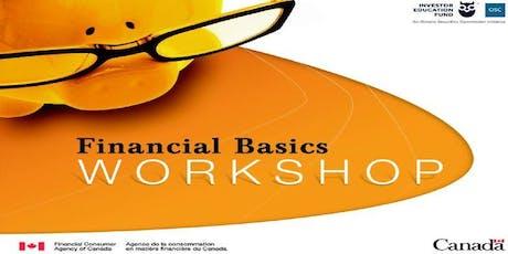 FINANCIAL LITERACY 101 (Financial Basics Workshop) tickets