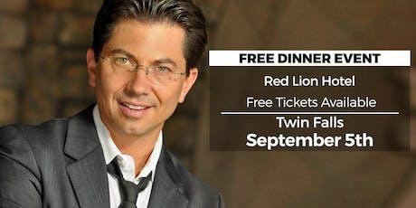 (FREE) Millionaire Success Habits revealed in Twin Falls by Dean Graziosi tickets