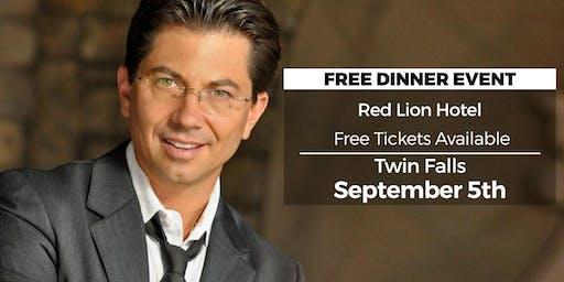 (FREE) Millionaire Success Habits revealed in Twin Falls by Dean Graziosi