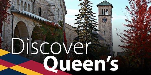 Discover Queen's 2019: Calgary