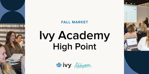 Ivy Academy at Fall High Point Market 2019