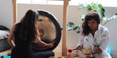 Sound Bath Meditation Journey & Vegan supper club  tickets