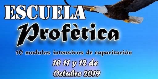 Escuela Con Profeta Pavlo Chaves 10,11,12 Octubre