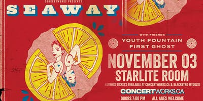 Seaway w/guests Youth Fountain, First Ghost, and More