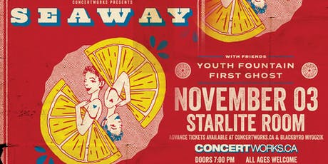 Seaway w/guests Youth Fountain, First Ghost, and More tickets