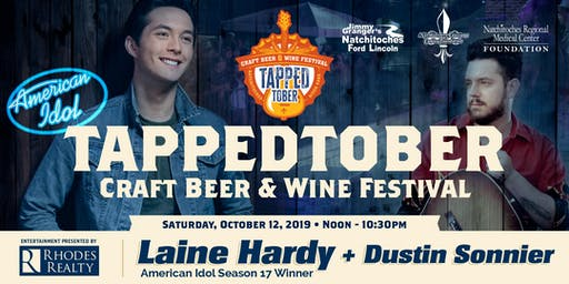TappedTober Craft Beer & Wine Festival featuring: Laine Hardy!