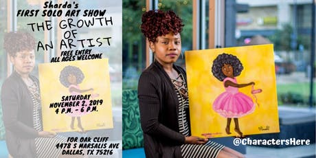 Sharda's First Solo Art Show: The Growth of An Artist tickets