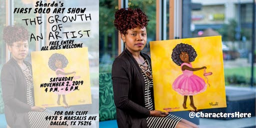 Sharda's First Solo Art Show: The Growth of An Artist