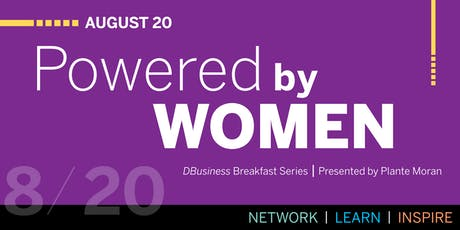 DBusiness Breakfast Series: Powered by Women tickets