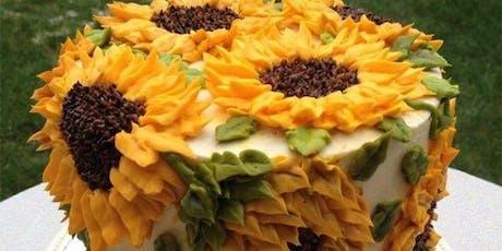 Sunflower cake class tickets