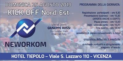KICK OFF Area Nordest - Presentazione Business e Formazione - VICENZA