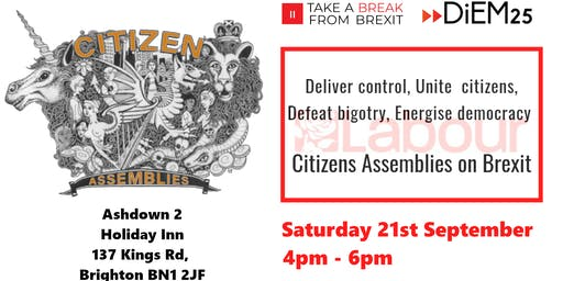 Deliver control, Unite the citizens, Defeat bigotry, Energise democracy