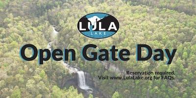 Open Gate Day - Sunday, October 27, 2019