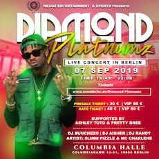 DIAMOND PLATNUMZ #SIMBAA# LIVE IN BERLIN CITY Tickets