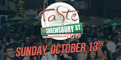 The Taste of Shrewsbury Street Fall Edition tickets