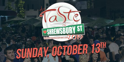 The Taste of Shrewsbury Street Fall Edition