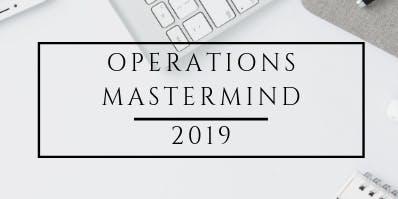 Operations Mastermind 2019