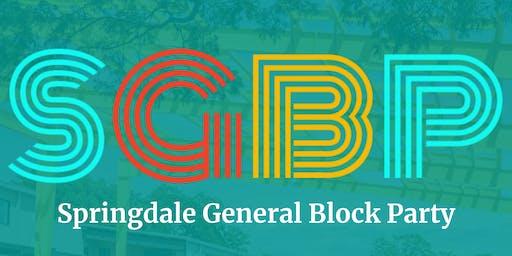 Springdale General Block Party