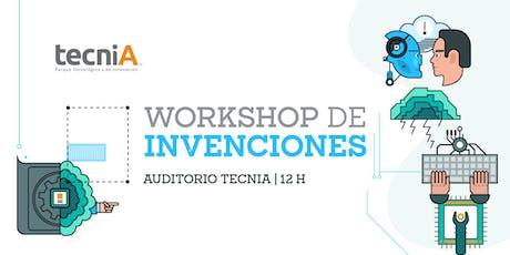 tecniA - Workshop de Invenciones 2019 boletos