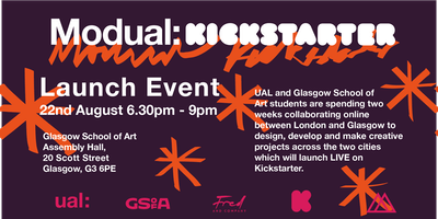 Modual: Kickstarter Glasgow Launch Night