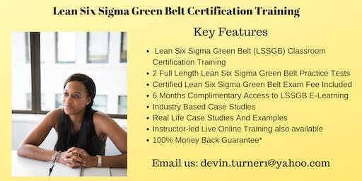 LSSGB Exam preparation Course in Green Bay, WI