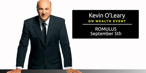 (Free) Shark Tank's Kevin O'Leary Event in Romulus