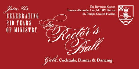 St. Philip's Church The Rector's Ball tickets