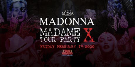 L-U-V MDNA PRESENTS: MADAME X AT THE GRAND tickets