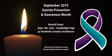 2019 Suicide Awareness & Prevention Month - Candlelight Vigil tickets